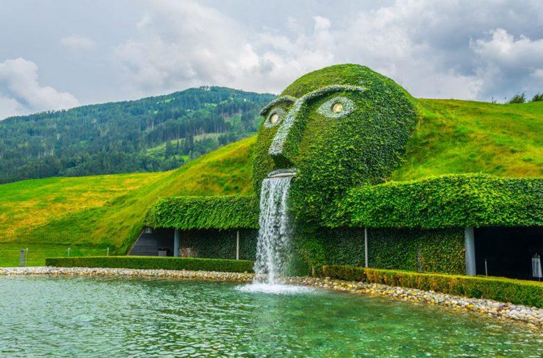 Фонтан «Сваровски», Инсбрук, Австрия