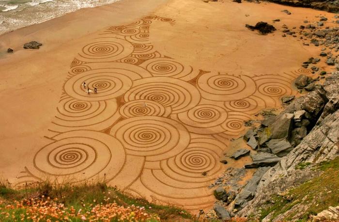Песочное искусство Tony Plant