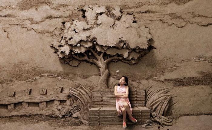 Скульптура Джоо Хенг Тана (Joo Heng Tan), выполненная по заказу компании «OMO»