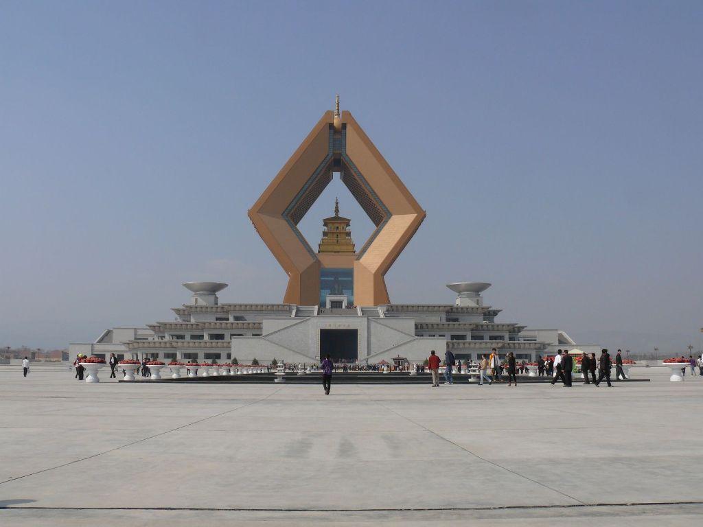 храм Famen в Xi'anie в провинции Шэньси
