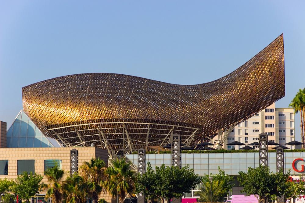 Олимпийский павильон «Рыба», Барселона