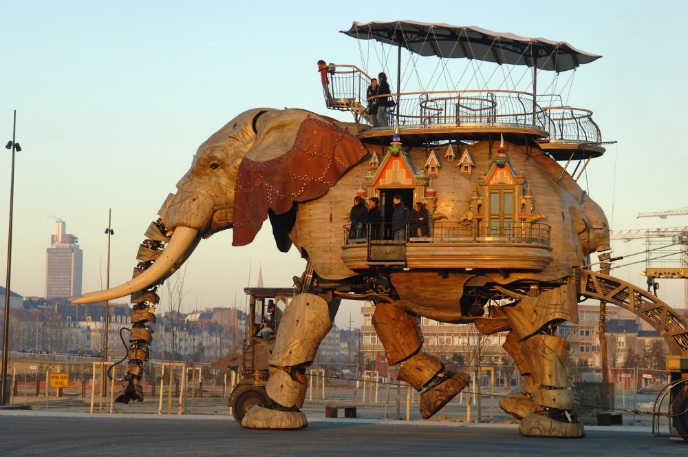 «Великий слон» на острове Нант