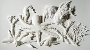 Бумажные скульптуры Дэрила Эштона1272