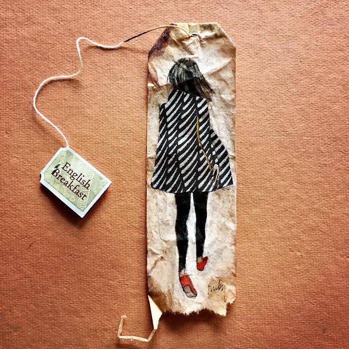 На прогулке. Автор: Ruby Silvious.