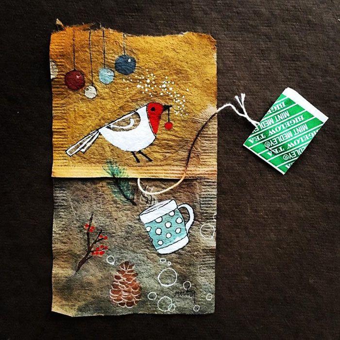 Птичка. Автор: Ruby Silvious.