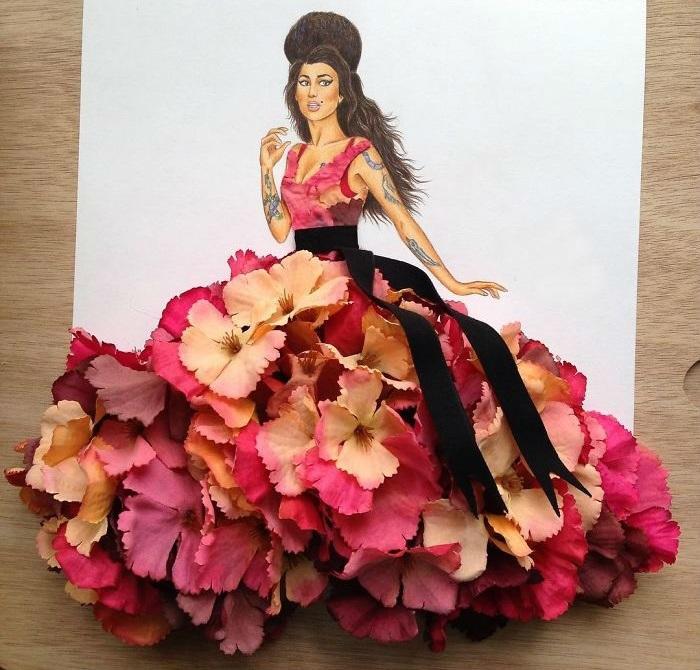 Яркий цветочный образ