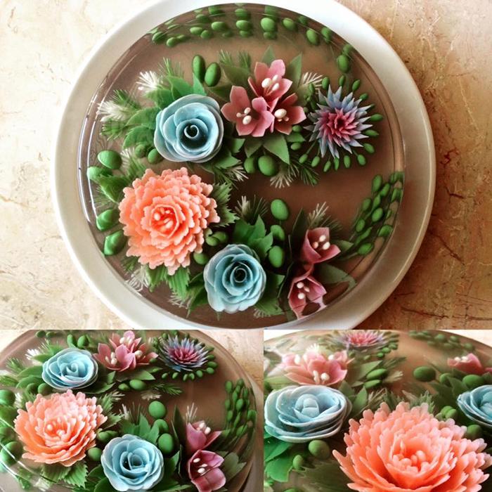 ЗD-торты от мастерицы Сью Хен Бун (Siew Heng Boon).