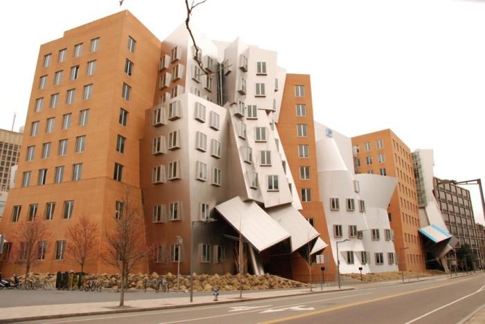 Здание научного центра в Бостоне. /Фото:exteriorcenter.ru