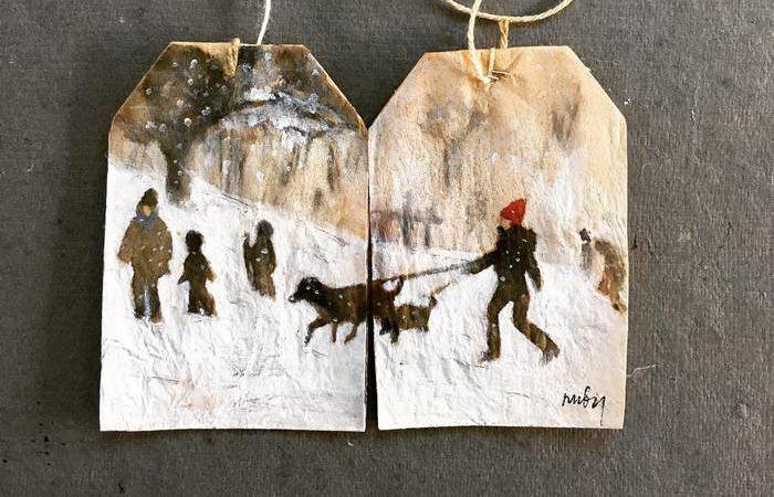 Зима. Автор: Ruby Silvious.