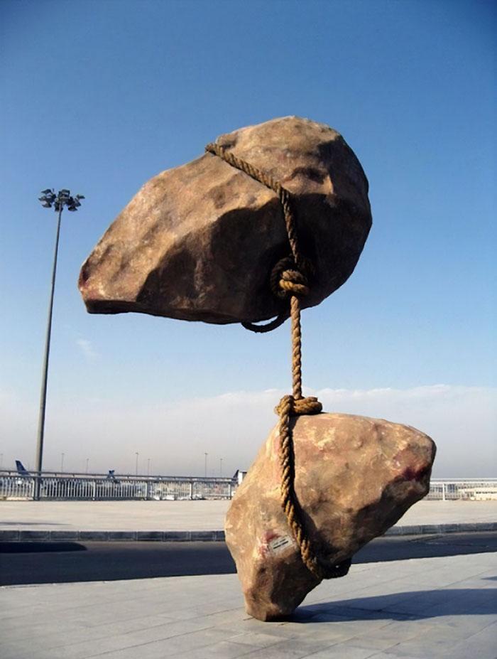 «Летающий камень», Смабан Аббас, Каир, Египет
