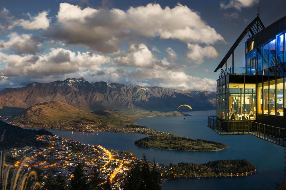 Skyline Restaurant, Куинстаун, Новая Зеландия
