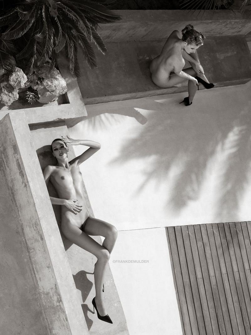 Снимки в жанре «Ню» Фрэнка Де Малдера