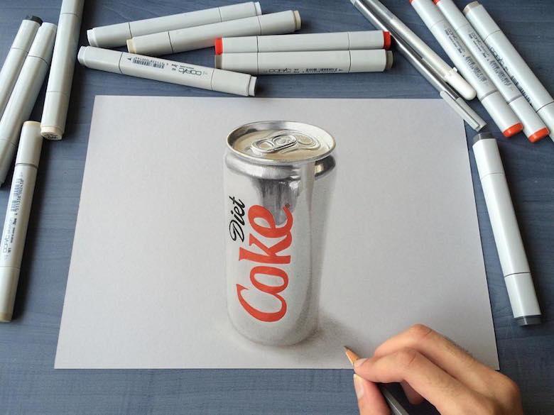 Гиперреалистичные рисунки индийского художника989