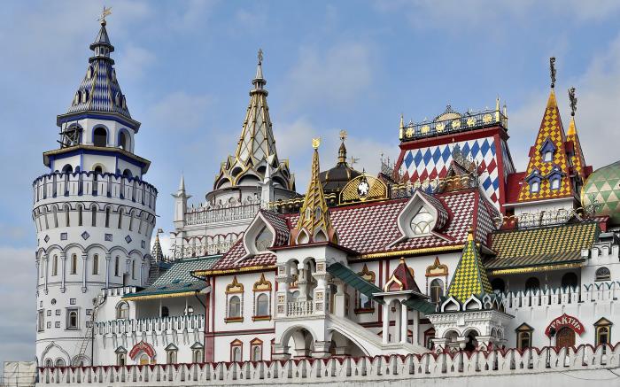 Измайловский Кремль, Москва, Россия. / Фото: www.goodfon.ru