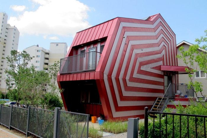 Lollipop House, Сеул, Южная Корея. / Фото: www.nytimes.com
