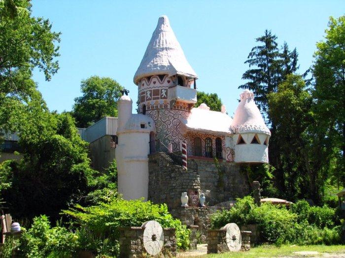 Пряничный замок, Гамбург, Нью-Джерси, США. / Фото: www.redsearch.org