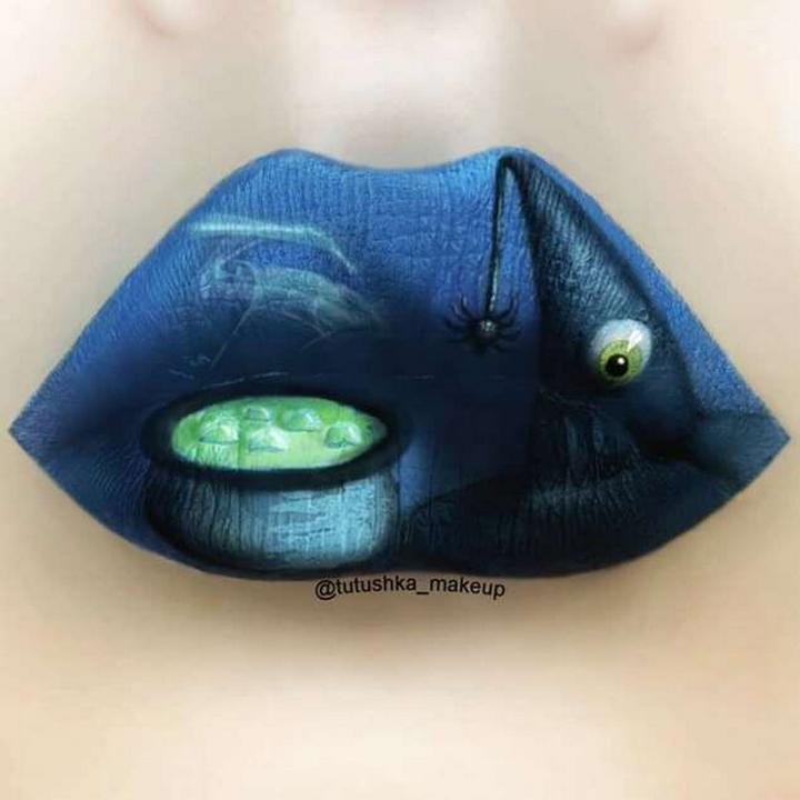 Визажист превращает губы в произведения искусства1078