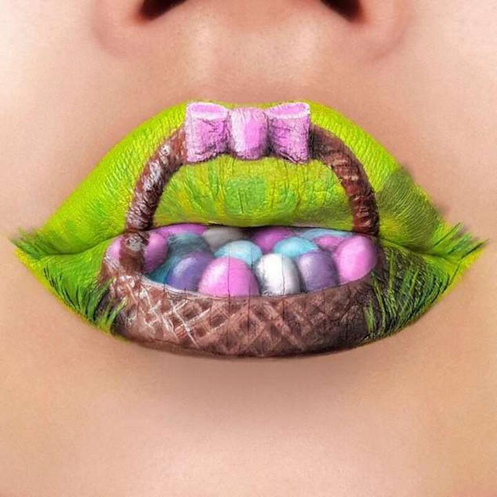 Визажист превращает губы в произведения искусства2141