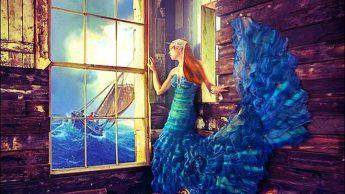 Дочь рыбака. Фэшн-фотографии от Натальи Дубиц