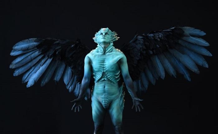 Художница из Новой Зеландии заняла 1-е место в категории «Спецэффекты», создав образ крылатого существа.