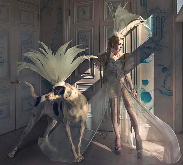 Танец. Фэшн-фотографии от Натальи Дубиц