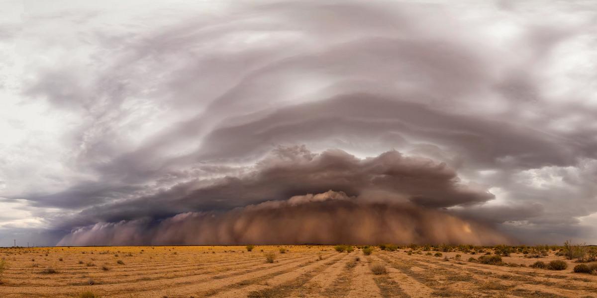 Апокалипсис. Аризона, США. Автор: Кевин Джуберг.