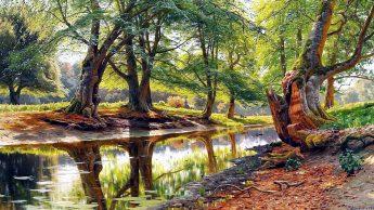Фотографическая живопись совершенный пейзаж П.Мёнстеда 09