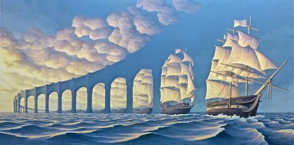 Художник, который обманет ваш мозг: невероятные иллюзии Роба Гонсалвеса