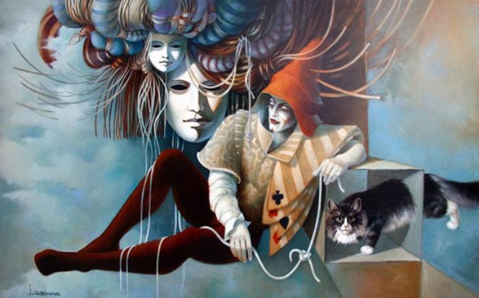 Иллюзионист. Автор: Jean Claude Desplanques.