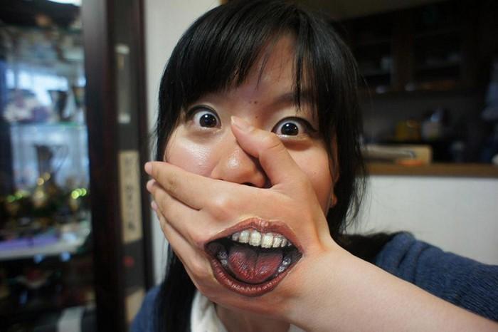 Никакого фотошопа! Рисунки по телу от Chooo-san