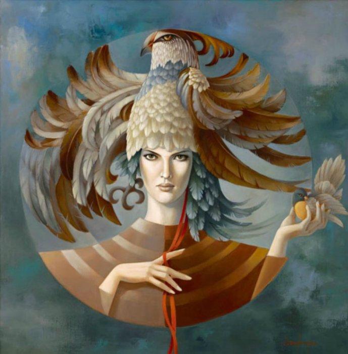 Птица. Автор: Jean Claude Desplanques.