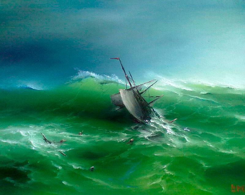 Сергей Лим – художник маринист