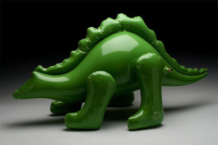 Brett Kern и его керамические скульптуры.