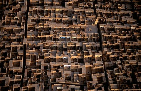 Красоты Земли с высоты - Деревня в Марокко