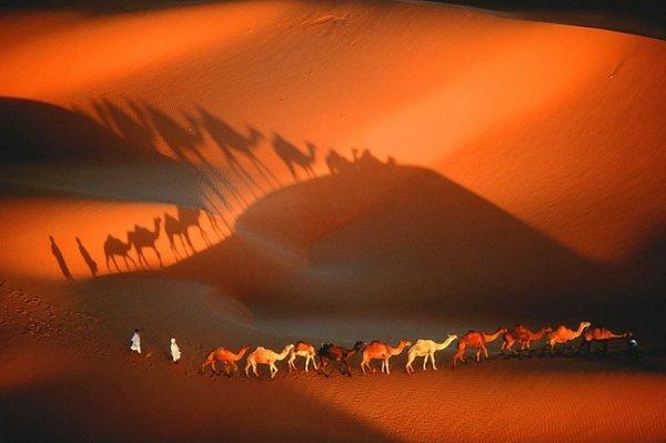 Красоты Земли с высоты - Мавритания