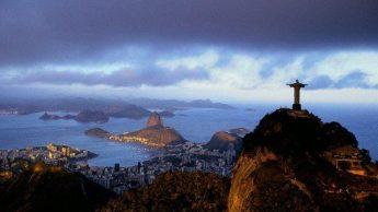 Красоты Земли с высоты - Рио-де-Жанейро, Бразилия