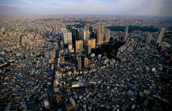 Красоты Земли с высоты - Токио, Япония
