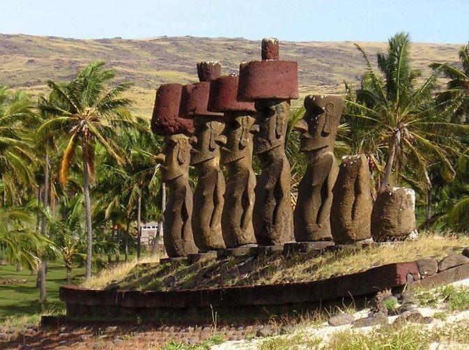 Памятники Моаи, Остров Пасхи - Места на планете, овеянные мистикой и легендами