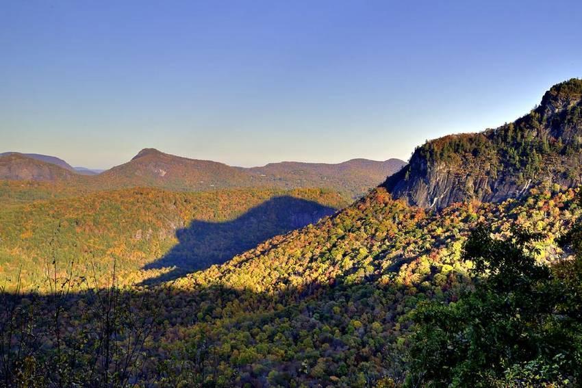 Тень медведя. Гора Уайтсайд, Северная Каролина, США