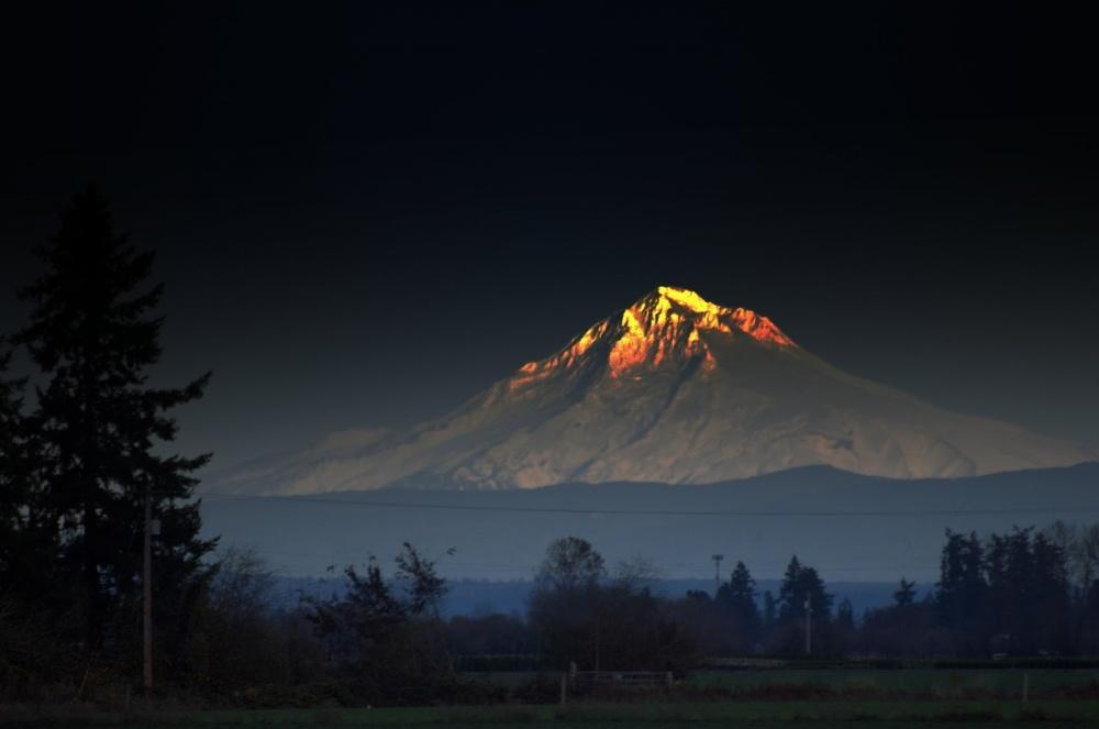 Сияющая гора. Фото: Jim Pankey