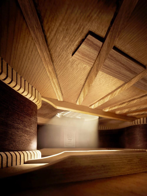 Внутри гитары
